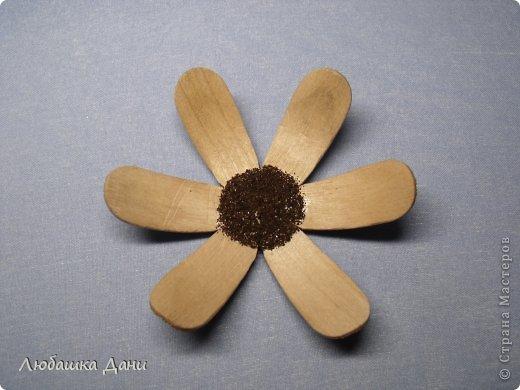 Мастер-класс Поделка изделие Моделирование конструирование Деревянные цветы МК Материал бросовый фото 12