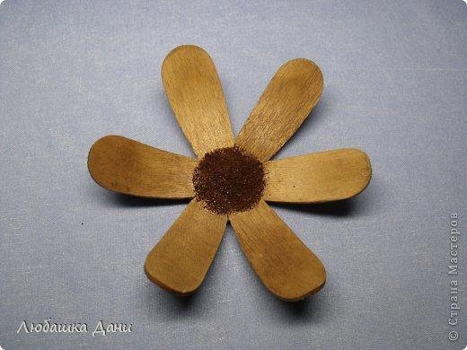 Мастер-класс Поделка изделие Моделирование конструирование Деревянные цветы МК Материал бросовый фото 14