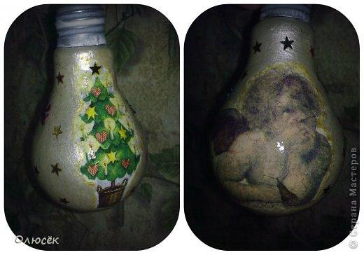 Мамулины новогодние декупажики :) Пожалуйста, не судите строго! (почему - писала здесь https://stranamasterov.ru/node/703240 ) фото 4