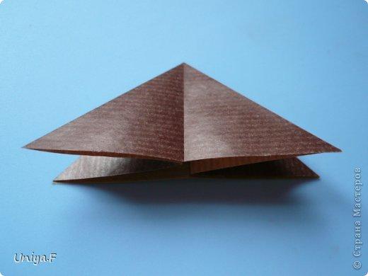 Мастер-класс Новый год Рождество Оригами Медведики Бумага фото 4
