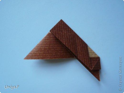 Мастер-класс Новый год Рождество Оригами Медведики Бумага фото 10