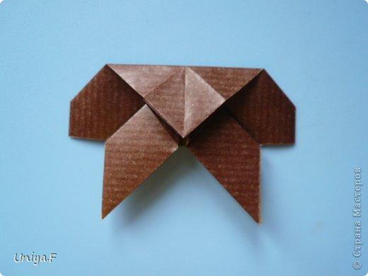 Мастер-класс Новый год Рождество Оригами Медведики Бумага фото 14