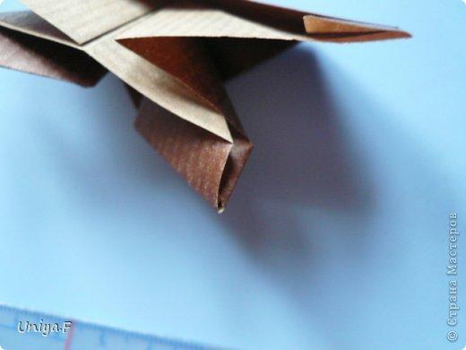 Мастер-класс Новый год Рождество Оригами Медведики Бумага фото 18