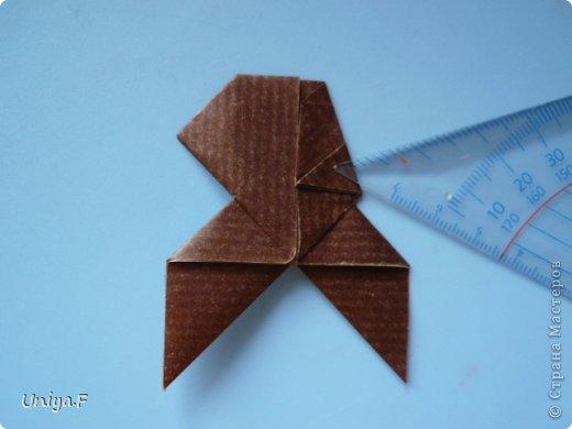 Мастер-класс Новый год Рождество Оригами Медведики Бумага фото 31
