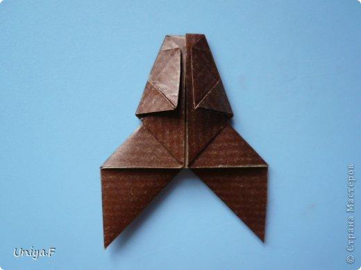 Мастер-класс Новый год Рождество Оригами Медведики Бумага фото 32