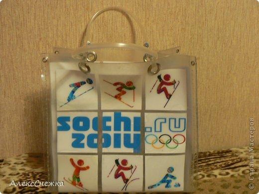 Сумка к олимпиаде Сочи 2014 фото 2