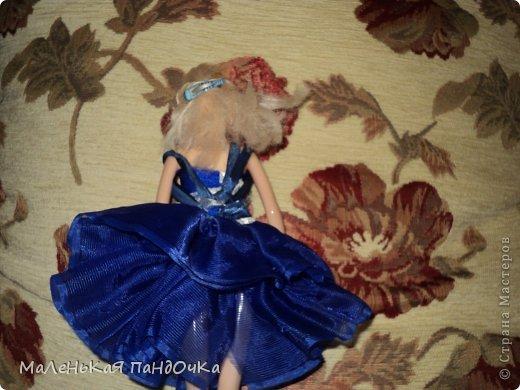 Вот такая Илонка у нас Балерина... Наряд состоит из: - трёхслойной пачки ( лента) -топа ( лайкра) с нашивкой  из  гипюра - лямки из ленты. фото 2