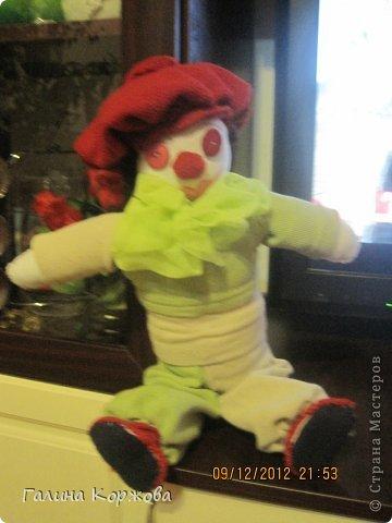 Клоун,неудачное фото..