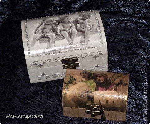 Доброго времени суток  дорогие жители Страны Мастеров. Хочу показать вам мои шкатулочки, сундучки, коробочки. фото 8