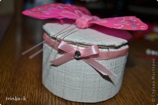Вот такую я коробочку с секретом сделала для сестры на день рождения   фото 1