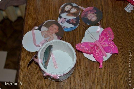 Вот такую я коробочку с секретом сделала для сестры на день рождения   фото 7