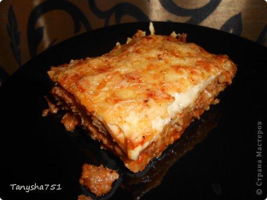 Кулинария Мастер-класс Рецепт кулинарный Вкусная лазанья  фото 1