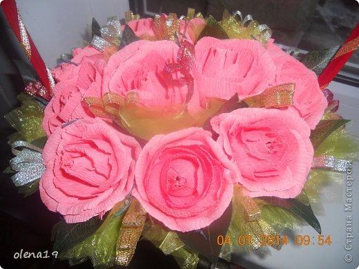 Корзина с розами к дню рождения племянницы. У нас выпал снег и грех было не воспользоваться этим.  фото 9