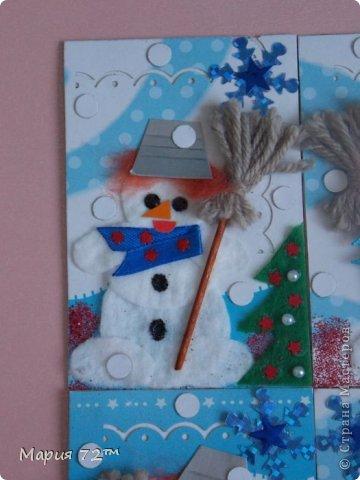 """АТС.Серия""""Веселые снеговики"""")) Была сделана в том году, моей мамой. Замечаю,что многие не хотят обмениваться с детьми, хочу сказать, что обмены карточками АТС происходят с моей мамой, то есть не со мной ребенком, а со взрослым человеком.  Всего карточек 4, из них 2 остаются нам. Все карточки объёмные,красивые. ОБМЕН ПРОИСХОДИТ ЖЕЛАТЕЛЬНО СО ВЗРОСЛЫМИ ЛЮДЬМИ И З/П. №1/4-Нельча №2/4-Elises №3/4-Мария 72™ №4/4-Мария 72™ фото 2"""
