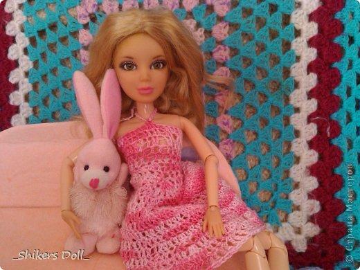 Камилла превратилась в розовую неженку^^ И решила не много по-фотографироваться с любимым зайчиком :) фото 9