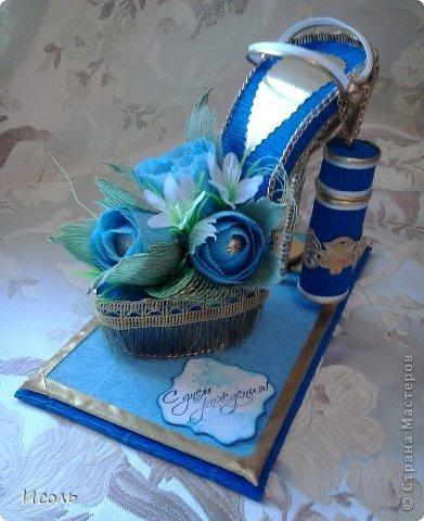 Привет страна! Вот и я решилась на создание сладкой обуви. Интересная работа, процесс изготовления мне понравился. Работала по МК: http://club.osinka.ru/topic-55757?p=9997169#9997169 изменила каблук, ещё некоторые мелочи и соответственно украшалки + мои додумки.  фото 1