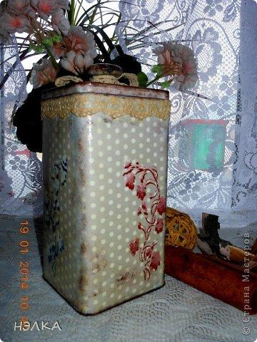 Здравствуйте ,всем доброго времени суток!!!! Леночка Гуреева заразила меня украшением для кухни. Вот сделала баночки. Надеюсь, что эти никому не подарю. Заполнила их специями. фото 3