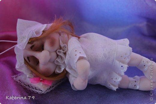 """Доброго всем дня! У меня сегодня кукла """"Сонечка""""  делала ее по мк Ликмы. Огромное ей спасибо! это вторая кукла которую я делала. https://stranamasterov.ru/node/128550 фото 3"""