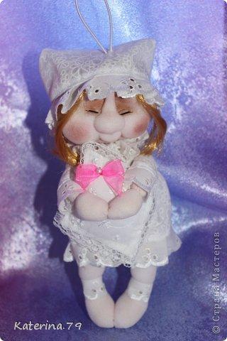 """Доброго всем дня! У меня сегодня кукла """"Сонечка""""  делала ее по мк Ликмы. Огромное ей спасибо! это вторая кукла которую я делала. https://stranamasterov.ru/node/128550 фото 5"""