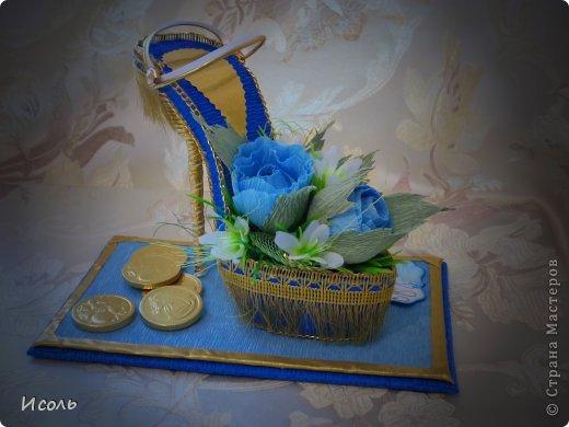 Привет страна! Вот и я решилась на создание сладкой обуви. Интересная работа, процесс изготовления мне понравился. Работала по МК: http://club.osinka.ru/topic-55757?p=9997169#9997169 изменила каблук, ещё некоторые мелочи и соответственно украшалки + мои додумки.  фото 2
