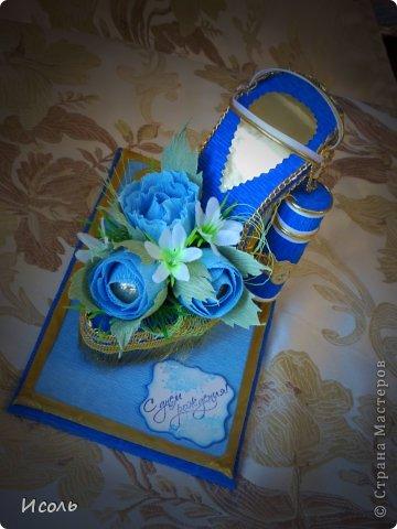 Привет страна! Вот и я решилась на создание сладкой обуви. Интересная работа, процесс изготовления мне понравился. Работала по МК: http://club.osinka.ru/topic-55757?p=9997169#9997169 изменила каблук, ещё некоторые мелочи и соответственно украшалки + мои додумки.  фото 5