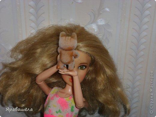 Это моя кукла Лена. Она не любит фотографироваться, фото 3
