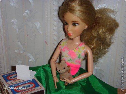 Это моя кукла Лена. Она не любит фотографироваться, фото 5
