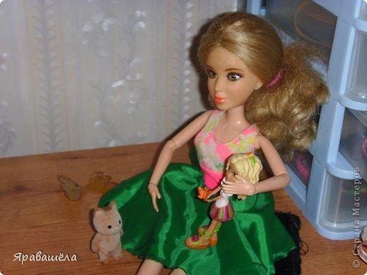 Это моя кукла Лена. Она не любит фотографироваться, фото 7