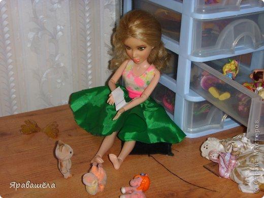 Это моя кукла Лена. Она не любит фотографироваться, фото 9