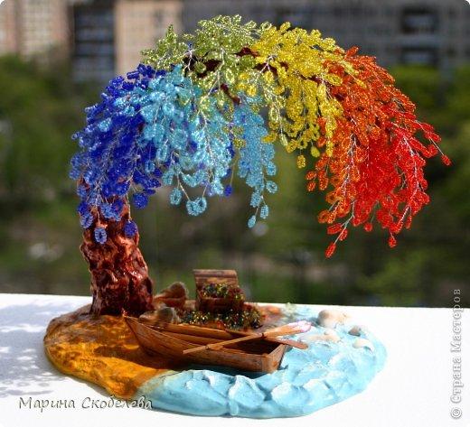 Деревце-радуга на чудесном острове... фото 1