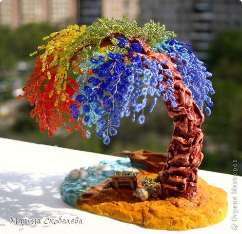 Деревце-радуга на чудесном острове... фото 5