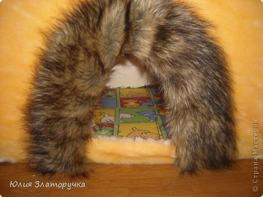Захотелось мне для своего котейки домик сделать.А т.к.я с молотком на Вы -решила сделать его из пеноплекса)легко и тепло)) фото 4