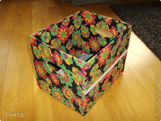 вот такой органайзер для спиц получился из картонной банки из-под чипсов фото 2