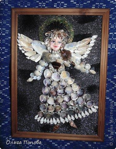 Ангел из ракушек фото 2