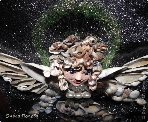 Ангел из ракушек фото 3