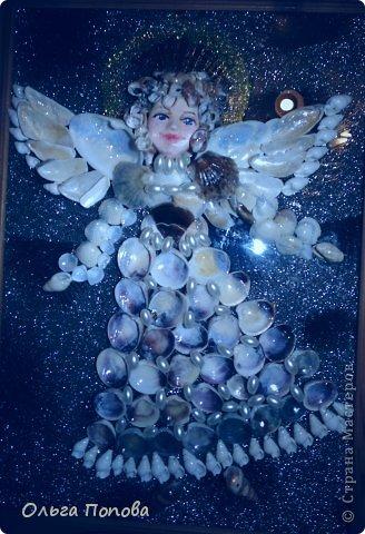 Ангел из ракушек фото 1