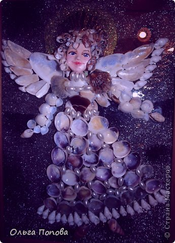 Ангел из ракушек фото 7