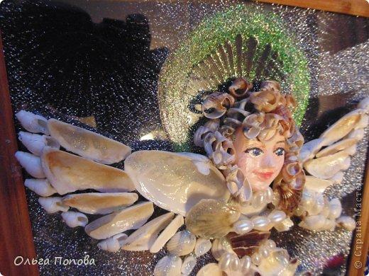Ангел из ракушек фото 5