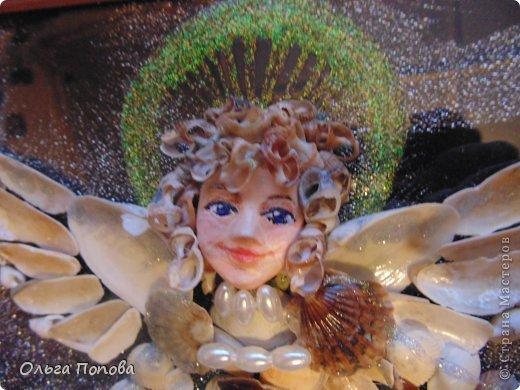 Ангел из ракушек фото 6