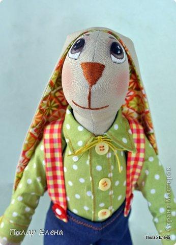Славная парочка - мышка Маришка и заяц Егорка. фото 4