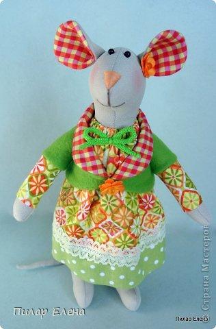 Славная парочка - мышка Маришка и заяц Егорка. фото 5