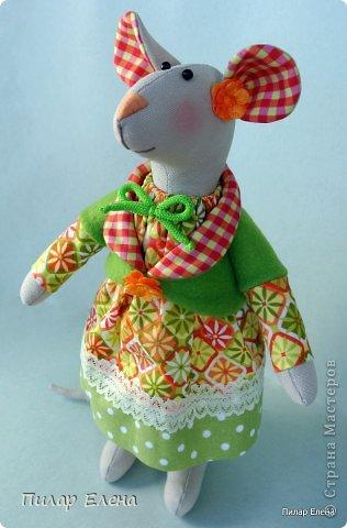 Славная парочка - мышка Маришка и заяц Егорка. фото 6