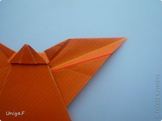 Мастер-класс Поделка изделие Новый год Рождество Оригами Рождественский ангел Туториал Бумага фото 20