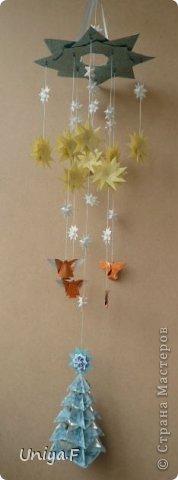 Мастер-класс Поделка изделие Новый год Рождество Оригами Рождественский ангел Туториал Бумага фото 33
