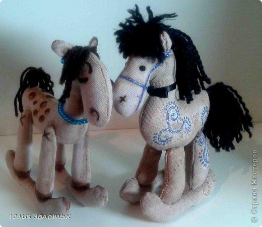 лошадки мягкие игрушки фото 9