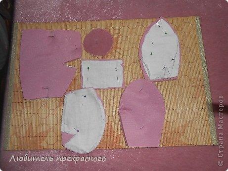 Игрушка Мастер-класс Шитьё Мультяшные свинка Пеппа и Джордж Тесьма шнур Ткань фото 5