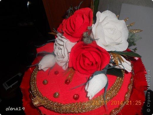 Тортик в красном цвете! Не синий!!! фото 1