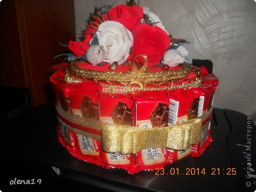 Тортик в красном цвете! Не синий!!! фото 5