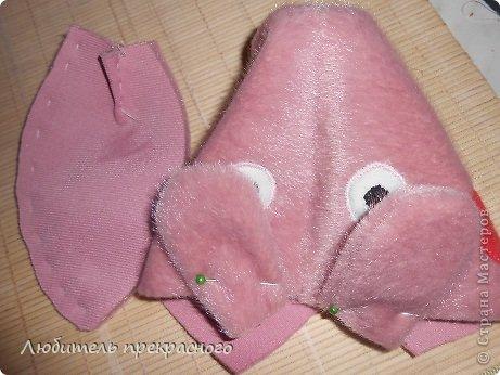 Игрушка Мастер-класс Шитьё Мультяшные свинка Пеппа и Джордж Тесьма шнур Ткань фото 19