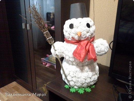Мой маленький снеговичек. фото 1